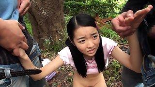 Grown up asian blowjob handjob voyeur in room