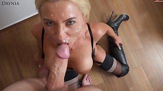 Daynia Blond Thorn Babe POV Copulation Video
