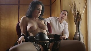 Submissive dour roughly fucked in excellent cuckold scenes
