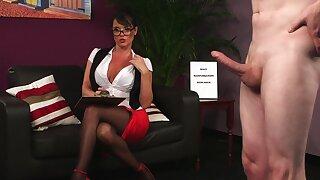 Pristine bare-ass porn in scenes of CFNM XXX