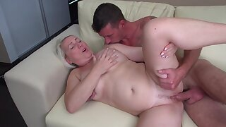 Naughty granny moans dimension being fucked by a younger toff - Gaborne