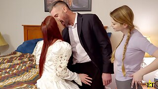 FFM threesome with sexy bestfriends Bunny Colby plus Danni Rivers