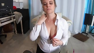 Stepmom teaches stepson about sex and lets him practice in her pussy - Erin Electra