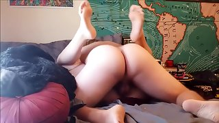 Creampie In Step Sister With My Big Dick, Almost Got Caught By Our Parents!