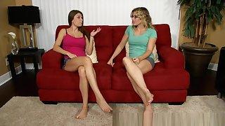 Crazy Amateur movie with Lesbian, Couple scenes