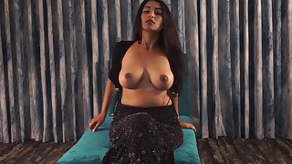 Mature Indian Woman Maya Rai Plays with Boyfriend Dick