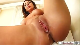All Internal MILF Janice gets creampie