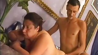 BBW old dirty granny fucking