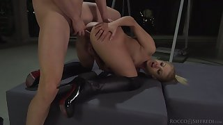 Ardent auburn Cherry Kiss gets hammered missionary rough enough