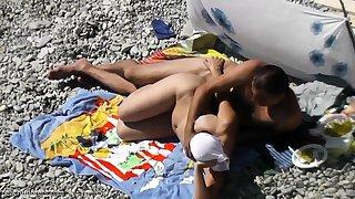 Voyeur intercourse beach