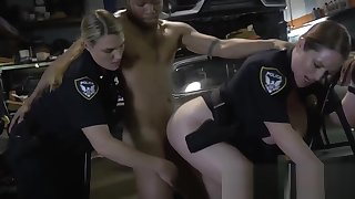 Beauteous cop went to the mechanic to get fucked off out of one's mind a big black cock. Visit us