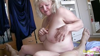 Mature ladies playing here each time other and here one hard cock