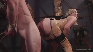 Face sitting porn added to femdom XXX with a hot comme ci