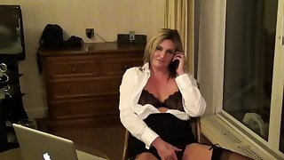 Secretary Sam in a Guest-house Room