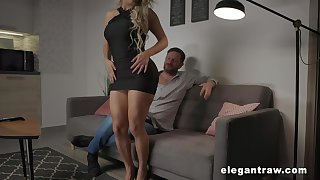 Zealous and inviting Brazilian busty blonde complain Mia Linz loves permanent anal