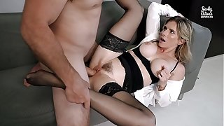 Hot Office MILF Seduced In Concerning Anal By Her Well Hung Boss - Cory Chase