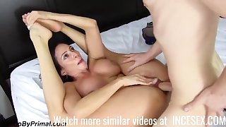 busty horny stepmom and her hunged sprog